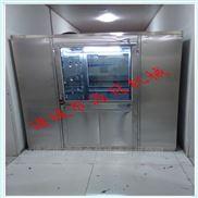 不锈钢单人单吹食品车间用洁净风淋室