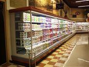 长沙定制风冷蔬菜保鲜柜牛奶冷藏风幕柜