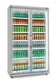 饮料柜平头柜两门超市便利店★酒水柜陈列柜