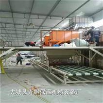 匀质板设备水泥基保温板生产设备全套图片