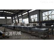 LY-15Z-传送拨板式牛丸蒸煮线 丸子蒸煮流水线价格