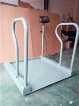 DCS-HT-L贵阳300kg带打印轮椅秤 血透轮椅体重电子秤