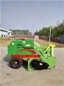 小麦秸秆回收打捆机 青贮粉碎打捆一体机