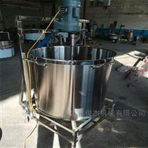 俊杰小型廚房燃氣加熱攪拌桶 電加熱夾層鍋