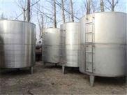 大量转让二手7吨304不锈钢储罐