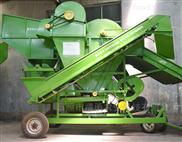 大型高效收货机械花生摘果机