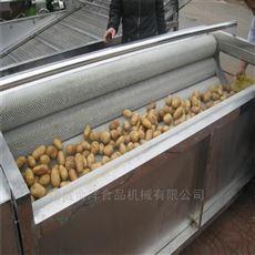 土豆山芋去皮清洗设备 毛棍去皮机