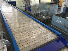 定制生产不锈钢链板式输送流水线