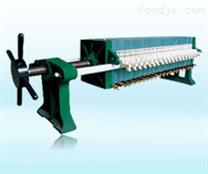 B315系列小型手动板框式压滤机