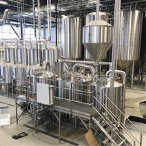 酿造精酿啤酒的设备一套价格啤酒设备厂家