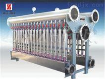 组合式高效低浓轻重杂质除渣器