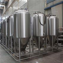 500升精釀啤酒設備生產廠家加工定制不銹鋼