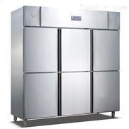 商用工程六门冰柜