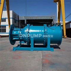 QZB大功率斜拉式潜水轴流泵参数规格