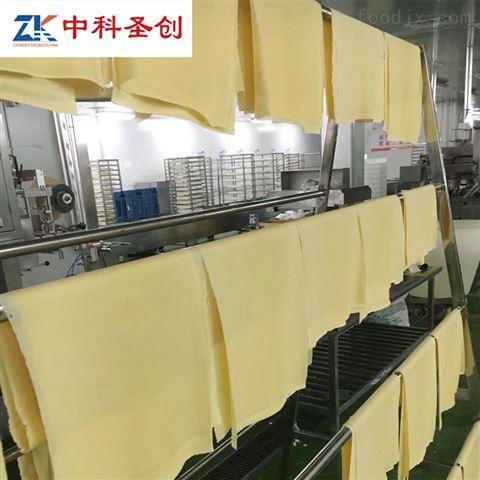 中科圣创大型全自动干豆腐皮机器视频