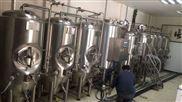 北京一套日产量1000升精酿啤酒设备生产线