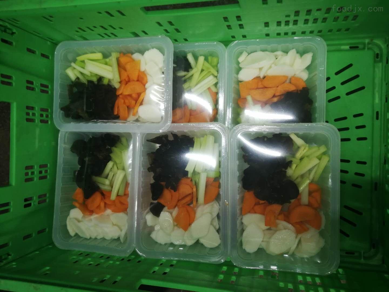 半自动配菜气调保鲜包装机