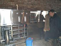 陕西榆林定边包装材料厂3吨纯净水设备