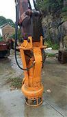 挖机安装灰浆泵,泥浆泵,砂浆泵