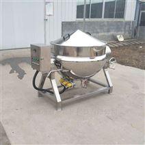 电加热蒸煮夹层锅 可带搅拌 定制