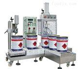 25升瀝青物料(liao)防爆液體灌(guan)裝機耐(nai)高(gao)溫包裝機
