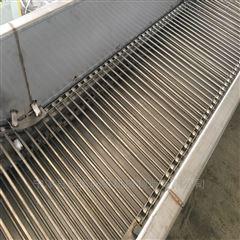 不锈钢链杆式网带清洗输送机