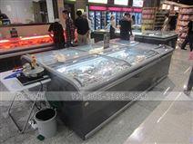 湖南超市中岛柜展示柜订购大概多少钱一台