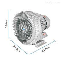 4KW除塵設備專用高壓鼓風機