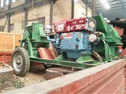 原木粉碎机移动碎木机柴油移动破碎机