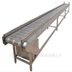 转弯提升环形食品生产线用不锈钢网带输送机