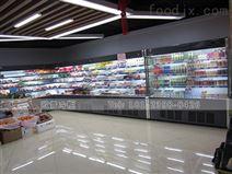 湖南2.5米飲品風幕柜定制找哪家