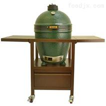 陶瓷烧烤炉+金属台