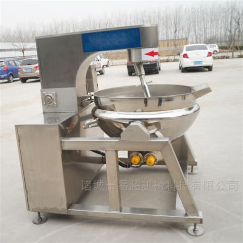 锅底刮的干净电加热行星炒锅