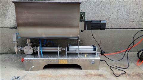 沃發可調速螺旋攪拌醬類灌裝機