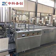 中科圣创全套自动豆腐皮机 豆腐皮加工机器多少钱 家庭式豆片制作机