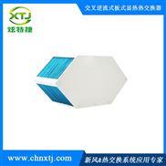 炫特捷六边形亲水铝箔换热器热交换芯体