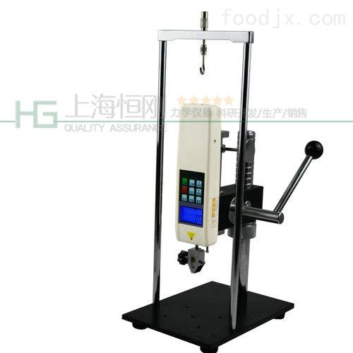 500N手压式拉压测试架_手动测试台厂家