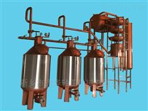 新疆吐鲁番桑葚酒蒸馏机组  环保电加热蒸馏