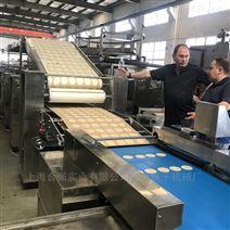 全自動提拉米蘇蛋糕生產線 自動餅乾撒粉機