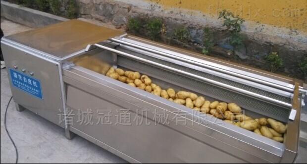 冠通大姜清洗机 黄姜去皮设备