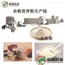 五谷杂粮营养粉设备 双螺杆膨化机生产线