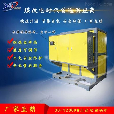 燃煤锅炉改用电磁采暖炉的优势