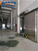 肉類食品冷藏專用單扇電動不銹鋼電動冷庫門