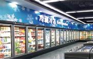 奇力玻璃門展示冷藏保鮮冷凍柜力天冷鏈