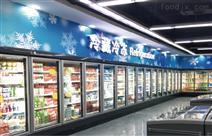 奇力玻璃门展示冷藏保鲜冷冻柜力天冷链