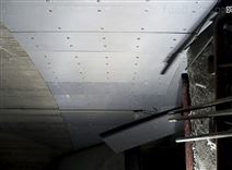 超高分子量聚乙烯煤仓衬板包安装