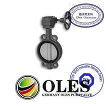 進口對焊式蝶閥(德國OLES奧萊斯閥門)