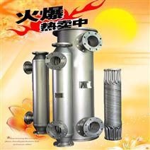 节能高效螺旋螺纹供暖换热器