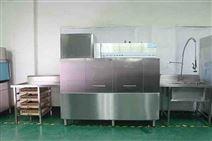 顺德深圳通道式洗碗机厨房工程圣托隧道式