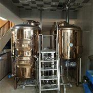 新型啤酒发酵设备 餐饮自酿啤酒设备精酿啤酒设备厂家